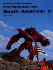 Rifts South America: 2 - World Book Nine