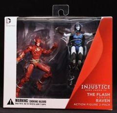 Injustice Gods Among Us - The Flash Vs. Raven