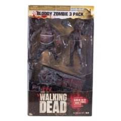 Walking Dead - Bloody Zombie 3-Pack