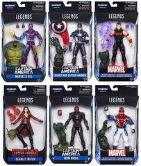 Captain America: Civil War ABOMINATION Build-A-Figure Set