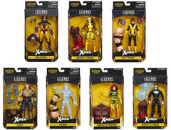 X-Men JUGGERNAUT Build-A-Figure Set