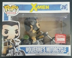 Marvel Series - #26 Wolverine's Motorcycle (Marvel Collectors Corps)