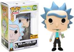 Animation Series - #114 - Rick with Portal Gun (Hot Topic)