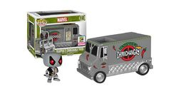 Rides Series #10 - DEADPOOLS CHIMICHANGA TRUCK (2015 Convention Exclusive)