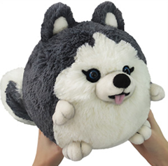 Mini Squishable Husky • 7 Inch