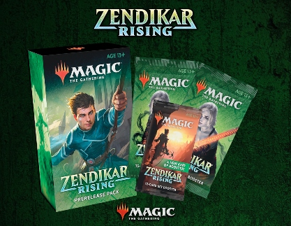 Zendikar Rising Prerelease Kit (+3 Free Packs!)