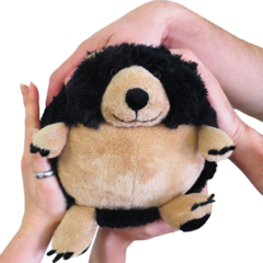 Mini Squishable Black Bear • 7 Inch