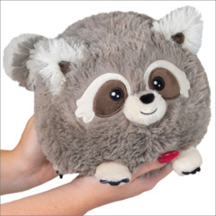 Mini Squishable Baby Raccoon