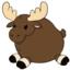 Mini Squishable Baby Moose • 7 Inch