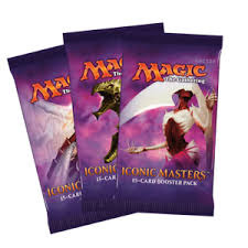 3 Iconic Masters Packs for $30