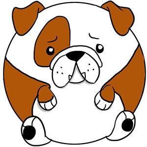 Squishable English Bulldog • 15 Inch