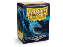 Dragon Shield Sleeves: Matte Night Blue (Box of 100)