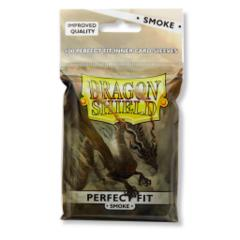 Dragon Shield Sleeves: Perfect Fit Smoke (Pack of 100)