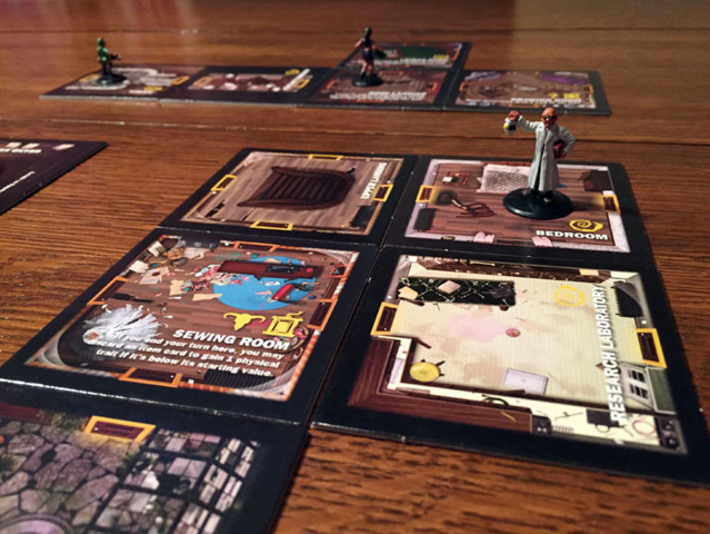 Betrayal at House on the Hill Expansion - Widows Walk