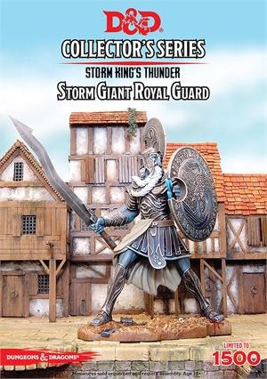 D&D Collectors Series Storm Kings Thunder Storm Giant Royal Guard