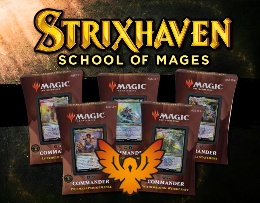 Strixhaven • Commander Deck: Set of 5