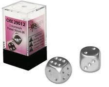 Chessex 2 Aluminum Plated 16mm d6 CHX29012