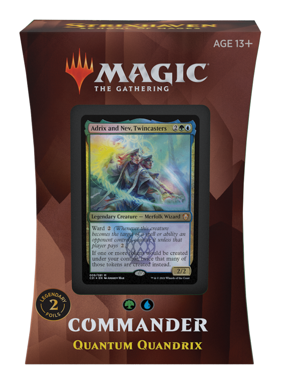 Strixhaven Commander 2021 Deck: Quantum Quandrix