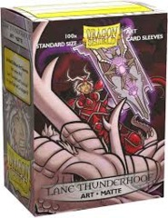 Dragon Shield Sleeves: Matte Art Saturion Lane Thunderhoof Portrait (Box of 100)