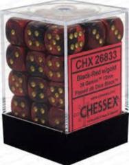 Gemini Black-Red/Gold - CHX26833