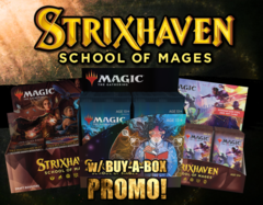 Strixhaven • Collector Experience w/ Two Buy-a-Box Promo