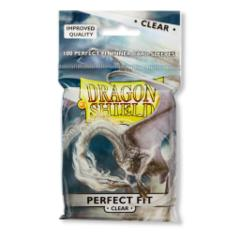 Dragon Shield Sleeves: Perfect Fit Clear (Pack of 100)