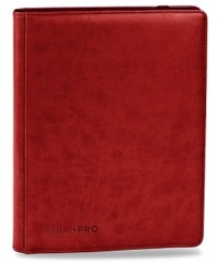 Ultra Pro: Red 9-Pocket Premium PRO-Binder