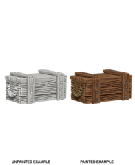 Crates Unpainted Miniatures 73090