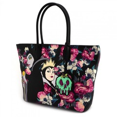 Loungefly x Disney Villains Floral Tote Bag