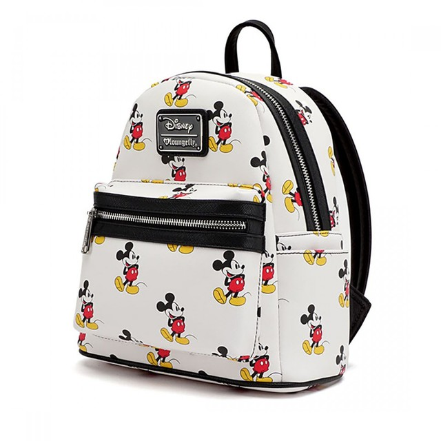 Loungefly x Mickey Mini Faux Leather Backpack