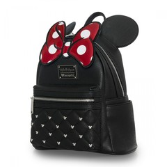 Loungefly x Minnie Bow Mini Faux Leather Backpack