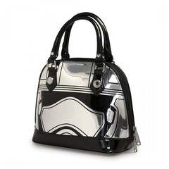 Loungefly x Star Wars: The Force Awakens Captain Phasma Embossed Mini Dome Bag