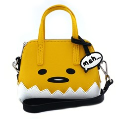 Loungefly X Gudetama Big Face Micro Dome Crossbody Bag