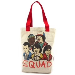 Loungefly x Stranger Things Squad Canvas Tote