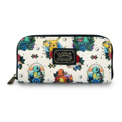 Loungefly x Pokémon Tattoo Flash Print Wallet