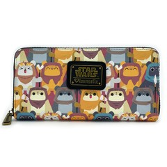 Loungefly x Star Wars Ewok Print Wallet