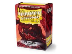 Dragon Shield Sleeves Crimson (Box of 100)