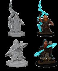 Dwarf Male Sorcerer Unpainted Miniature 73188