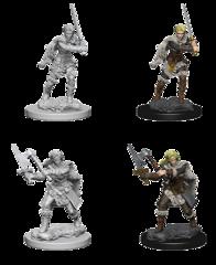 Human Barbarian Unpainted Miniature 72644