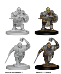Dwarf Fighter Unpainted Miniature 72617