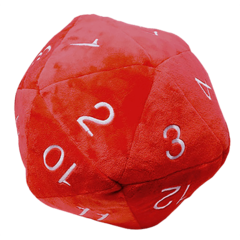Ultra Pro: Jumbo Red D20 Plush