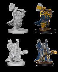 Dwarf Paladin Unpainted Miniature 72630