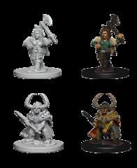 Dwarf Barbarian Unpainted Miniature 72645