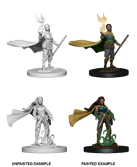 Elf Druid Unpainted Miniature 72642