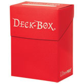 Red Deck Box
