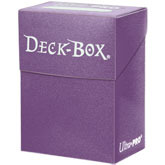 Purple Deck Box