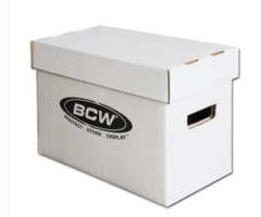 BCW Short Comic Storage Box
