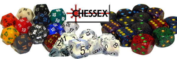 Chessex dispaly adv copy