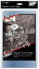 Ultra-Pro Comic Bags Regular Size 7-1/8