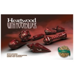 Wizard Set Heartwood With Moonsilver